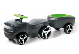 kids ride-on + trailer BFARM, dark grey 432C