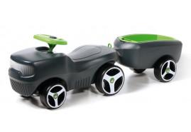 kids ride-on + trailer BFARM, dark grey 432C
