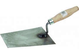 brick trowel from black sheet metal, 160x130