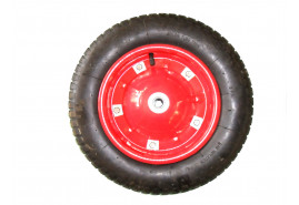 spare inflatable wheel for garden wheel barrow