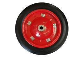 full rubber wheel, spare for garden wheelbarrow