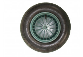 inflatable wheel LIVEX green
