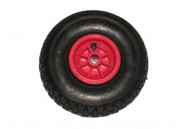 spare inflatable wheel for hand truck