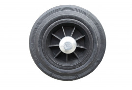 full rubber wheel, spare for hand truck