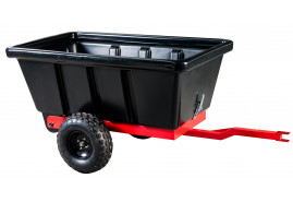 two-wheel trailer 500 l - plastic body