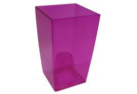 flowerpot case angular, DUW 120P, pink, size 120x120x200 mm