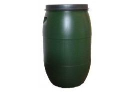 barrel 120 l for water with lid