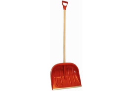 shovel D-AL, 480x390 mm with AL handle