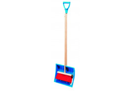 set for children KID SET, 290x220 mm with handle + broomstick