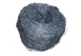 barbed wire 2,20 mm, packet 15 kg