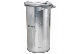 dustbin 110 l galvanized