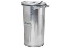 dustbin 110 l galvanized