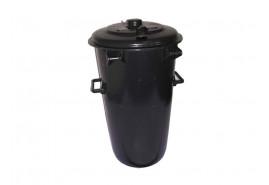 dustbin 110 l plastic, round