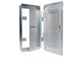 chimney hatch - galvanized