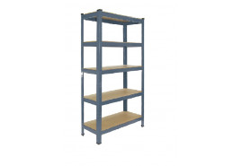 rack with shelves SOLID 1200x450x1800mm