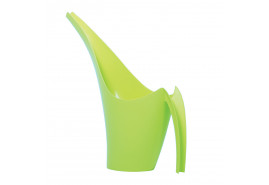watering can plastic 1.5l GIRAFFE light green