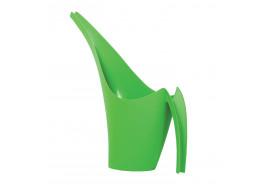 watering can plastic 1.5l GIRAFFE dark green
