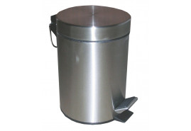 rubbish bin 12 l stainless