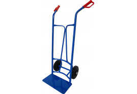 house hand truck, for round containers, full wheel 200mm