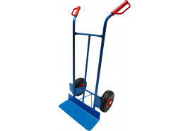 hand truck universal, inflatable wheel 260mm
