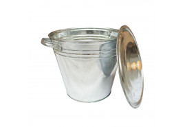 pail with lid 15 l