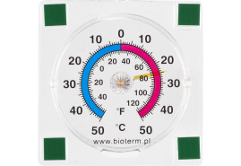 adhesive outdoor thermometer 77x77 mm