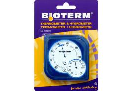 indoor/outdoor thermometer 75x75 mm