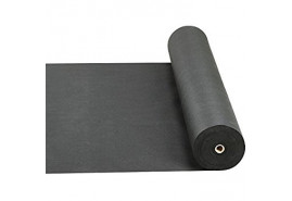non-woven fabric 0.8 x 100m black 50g/m2 - roll