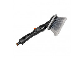 washing brush round with handle