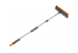 double-sided squeegee with telescopic rod 75-120mm