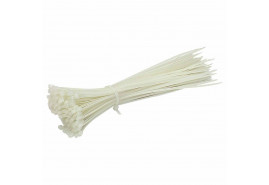 cable ties 2.5x100 white  100pcs