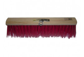 road broom colorful 40 x 6,5 cm with socket
