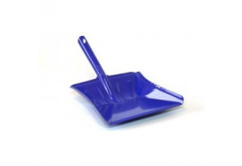 dustpan colored varnish blue