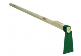 hoe with handle 100 cm, width 75 mm