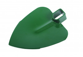 hoe heart-shaped without handle, width 140 mm