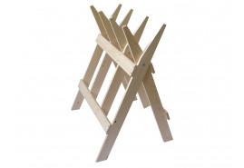 wooden buck 100x90 cm
