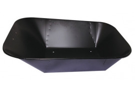 platform for wheelbarrows capacity 60 l, black spot-weld