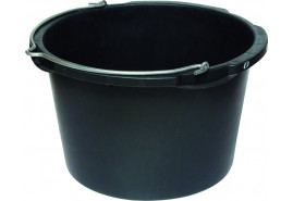 mortar bucket circular 45 l, metal handle