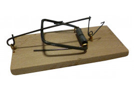 mouse trap wooden standard