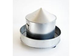 tube for grains 12,-kg, galvanized