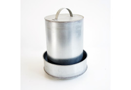 drinking basin hat-shaped   2 l,  galvanized