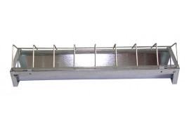 chicken feeder 100 cm, galvanized