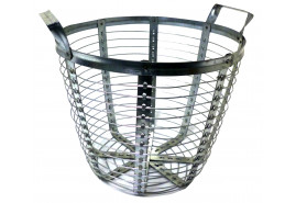 wire basket galv., capacity 100 l
