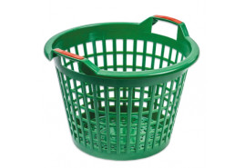 plastic basket 500mm, green