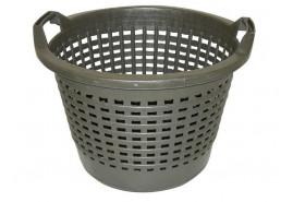 plastic basket 500mm, black