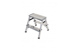step ladder Al 2x2 double sided