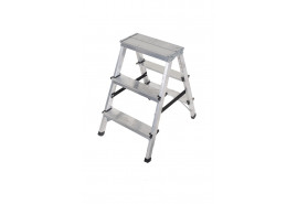step ladder Al 2x3 double sided