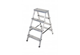 step ladder Al 2x4 double sided