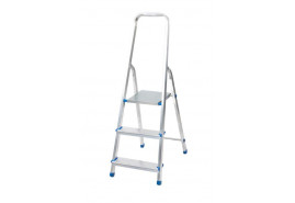 step ladder Al 1x3 one-sided with handle