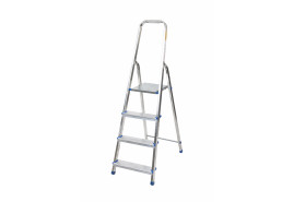 step ladder Al 1x4 one-sided with handle